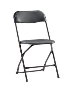Poly Folding Chair Charcoal