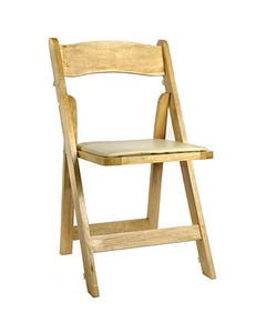 Natural Folding Chair