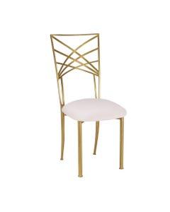 All Gold Chameleon Chair
