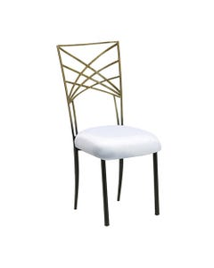 Two Tone Gold Chameleon Chair