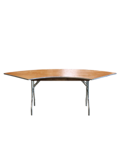 "30"" x 60"" Serpentine Table"