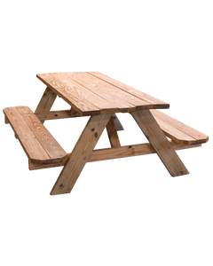 Picnic Table 6' Wooden