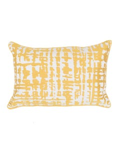 """Canary Ember Pillow 13"""" x 20"""""""