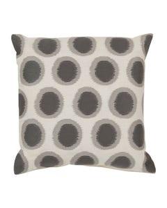"Gray Orbit Pillow 20"" x 20"""