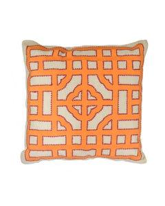 "Ginger Dynasty Pillow 18"" x 18"""