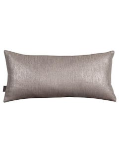 """Pewter Glam Pillow 11"""" x 22"""""""