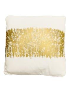 """Gold Agatha Pillow 20"""" x 20"""""""