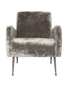 Apollo Charcoal Velvet Chair