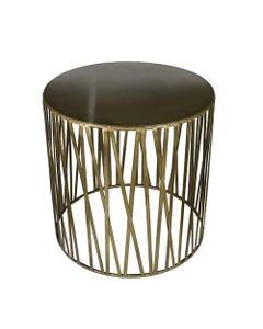 Brass Pharaoh Side Table