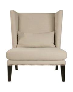 Jute/Burlap Mercer Club Chair