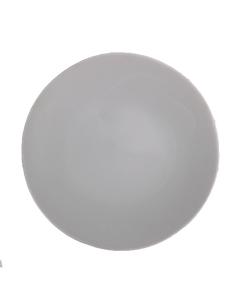 """Matte Gray Dinner Plate 10.75"""""""