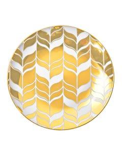 """Farrah Gold Salad Plate 7.5"""""""