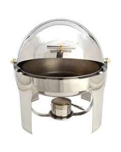 Rolltop Round Chafer 6 qt