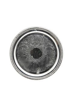 """12"""" Round Gadroon Tray"""