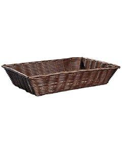 """Wicker Bread Basket 18"""" x 12"""""""