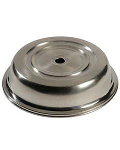 """Stainless Plate Cover 10.75"""""""