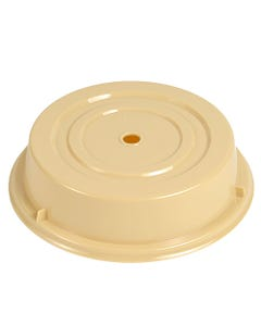 """Plastic Beige Plate Cover 11"""""""