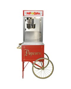 Popcorn Machine with Resale Products