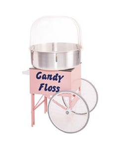 Cotton Candy Machine with Resale Products