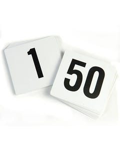 Table Number Sets