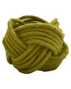 Moss Jute Napkin Ring