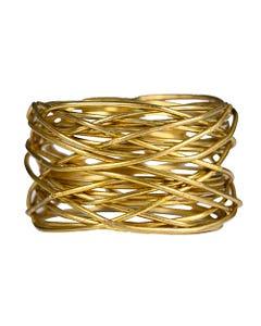 Gold Bangle Napkin Ring