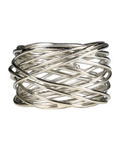 Silver Bangle Napkin Ring