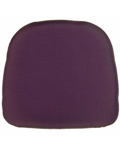 Eggplant Chair Pad Cover