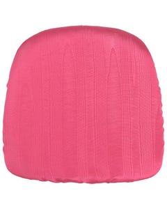 Fuchsia Bengaline Chair Pad Cover