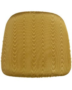 Gold Bengaline Chair Pad Cover