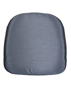 Slate Blue Nova Solid Chair Pad Cover