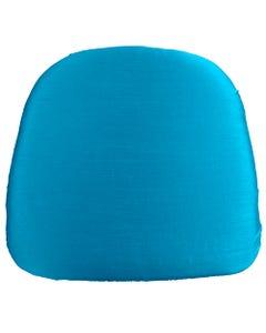 Bermuda Blue Nova Solid Chair Pad Cover