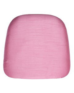 Candy Pink Nova Solid Chair Pad Cover