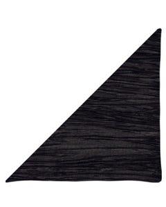 Black Crinkle Napkin