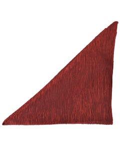 Velvet Red Crinkle Napkin
