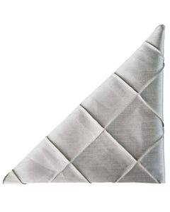 Silver Nova Pintuck Napkin