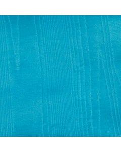Turquoise Bengaline Moire