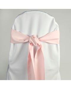 Pastel Pink Chair Sash