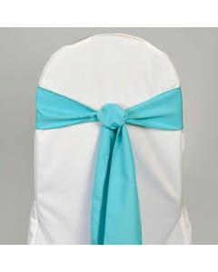 Turquoise Chair Sash