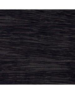 Black Crinkle Runner