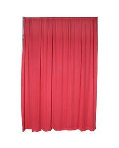 Red Premier Drape