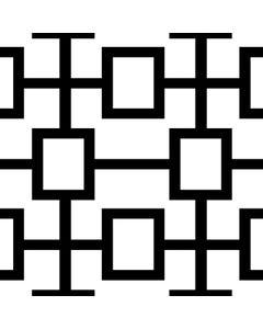 Black Squared Runner